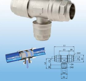 Compressed Air Technology – Aluminium Plumbing, Fixings and Accessories