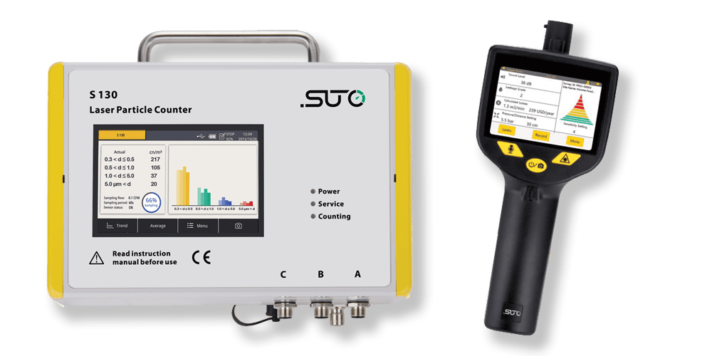 compressed air quality testing equipment
