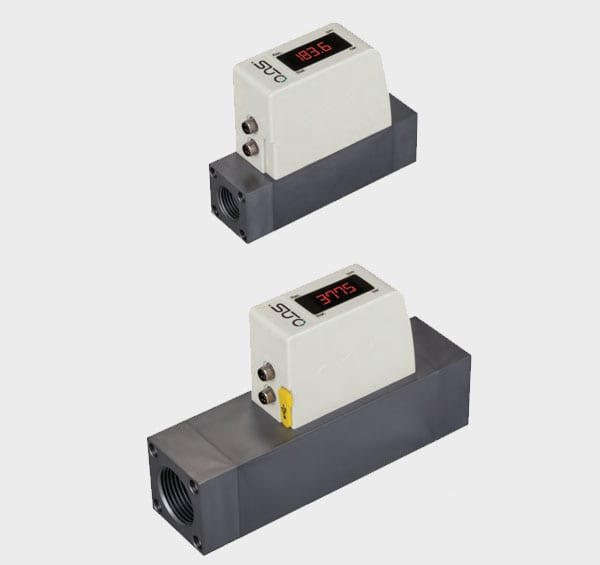 compressed air thermal mass flow meter