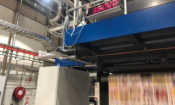 printing industry compressed air